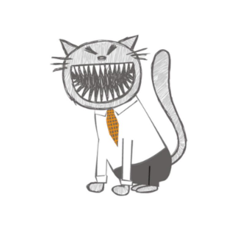 Lang cat sketch